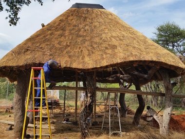 New Thatched Roof Pretoria Nuwe Grasdakke Rondavel