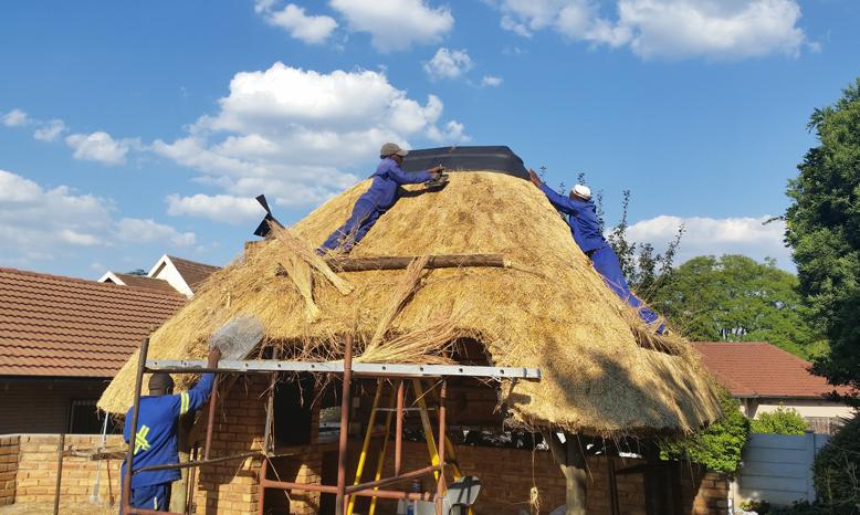 Thatch Roof Lightning Conductors Pretoria Cca Sabs